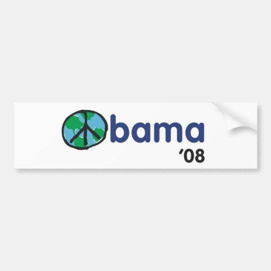 Obama Peace '08 Bumper Sticker