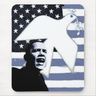 Obama Peace Dove Mousepad