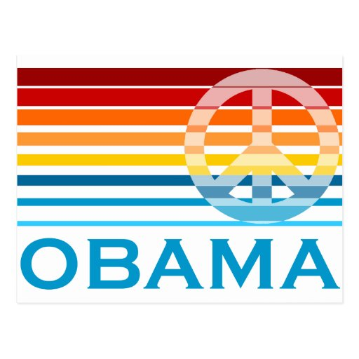 Obama Peace Postcards