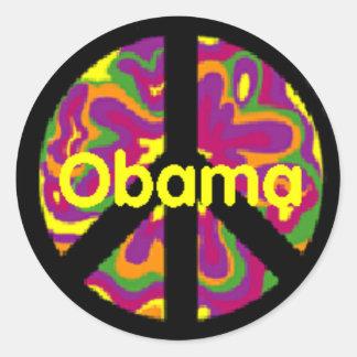 Obama Peace Sign Sticker