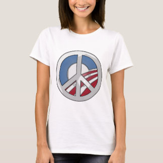 Obama Peace Sign T-Shirt