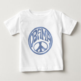Obama Peace Stamp Baby T-Shirt