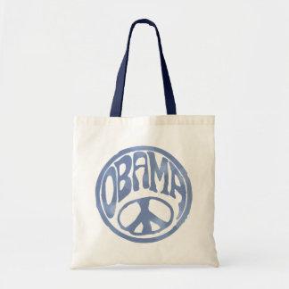 Obama Peace Stamp Budget Tote Bag