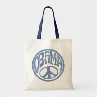 Obama Peace Stamp Tote Bag