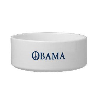 Obama Peace Symbol Bowl