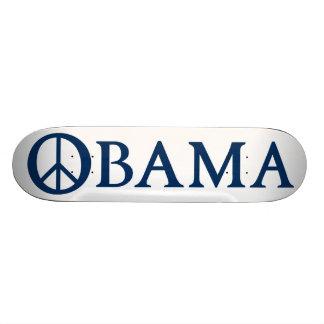 Obama Peace Symbol Skateboard