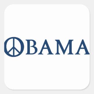 Obama Peace Symbol Sticker