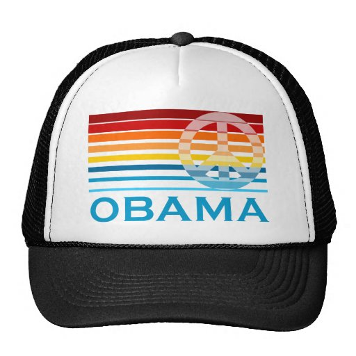 Obama Peace Trucker Hat
