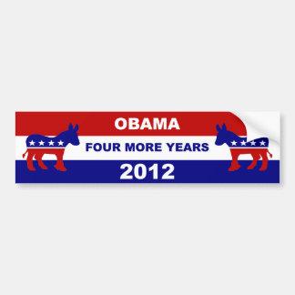Obama Pegatina De Parachoque