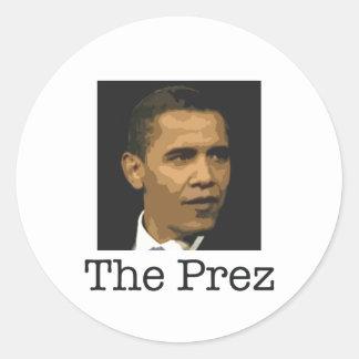 Obama pegatina del Prez