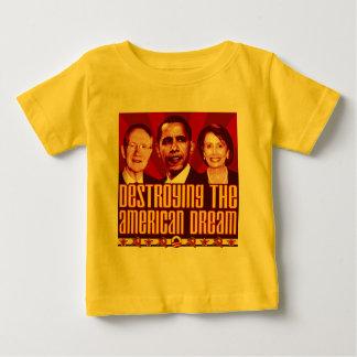 Obama Pelosi Reid - Destroying the American Dream Baby T-Shirt