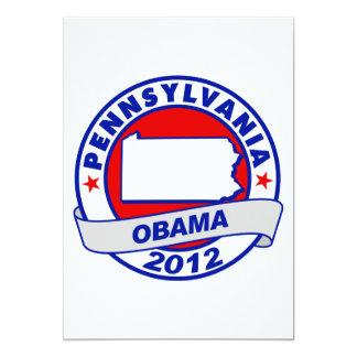 Obama - pennsylvania card