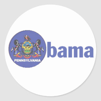 Obama Pennsylvania Sticker