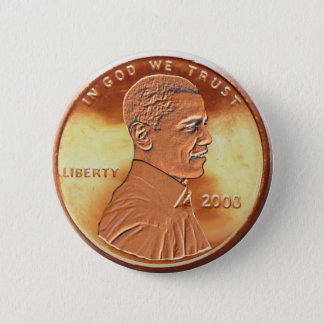 Obama Penny Button