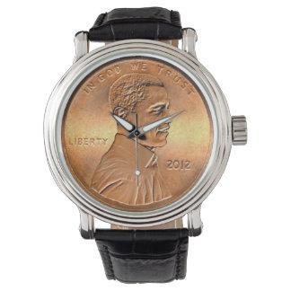 Obama Penny Wristwatch