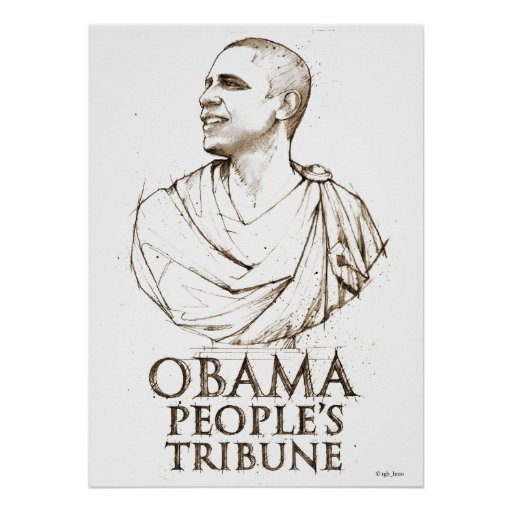 Obama People's Tribune Poster