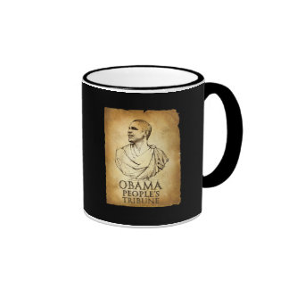 Obama People's Tribune Ringer Coffee Mug