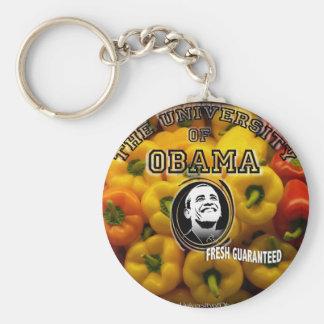 Obama peppers FRESH GUARANTEED Keychains