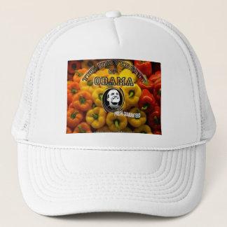 Obama peppers FRESH GUARANTEED Trucker Hat