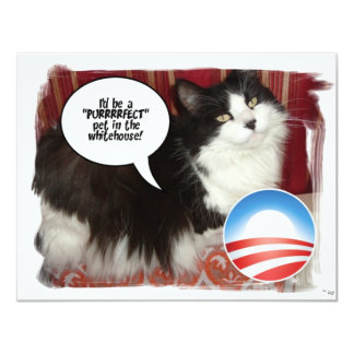 Obama Pet/Political Humor Card