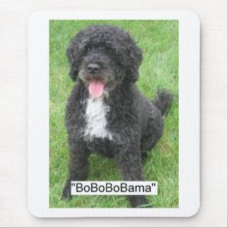 Obama Pet/Portuguese Water Dog Mousepads