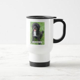 Obama Pet Portuguese Water dog Travel Mug