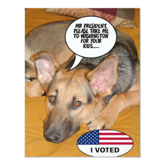 Obama Pet/Whitehouse Humor Card