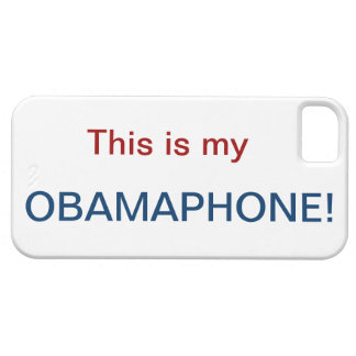 OBAMA PHONE* iPhone SE/5/5s CASE