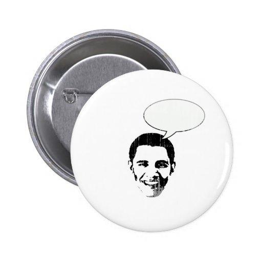 Obama piensa Vintage.png Pin