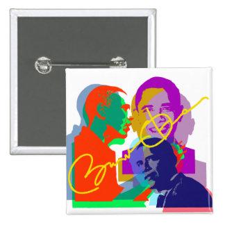 Obama Pin Cuadrado