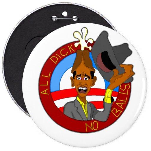 Obama Pin Redondo 15 Cm