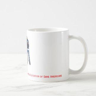 Obama Pissing on USA Classic White Coffee Mug