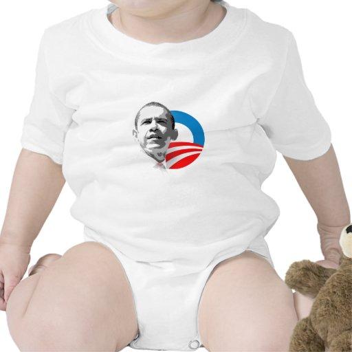 Obama Plain O 2 Baby Bodysuits