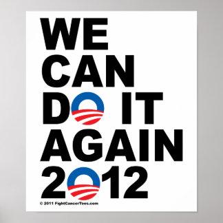 Obama: Podemos hacerlo otra vez Póster