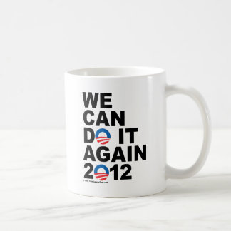 Obama: Podemos hacerlo otra vez Taza Básica Blanca