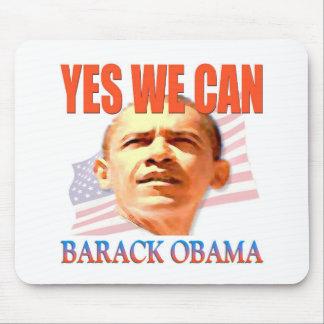 Obama podemos sí alfombrillas de ratón