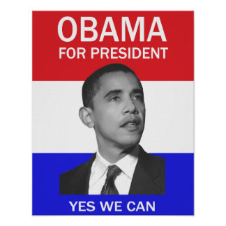 obama podemos sí poster