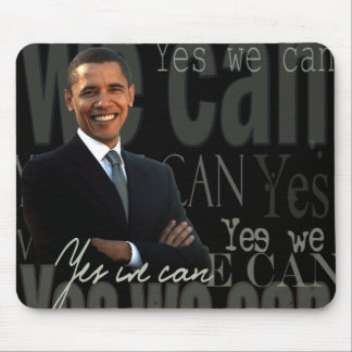 Obama podemos sí tapete de ratón