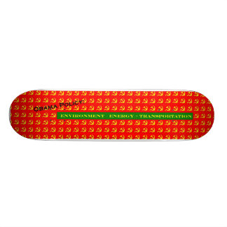 Obama Policy Custom Skateboard