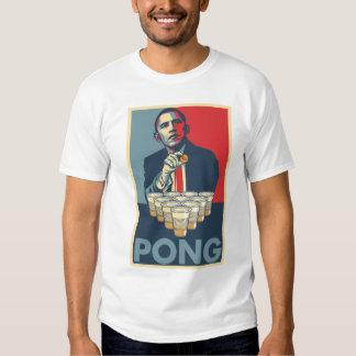Obama Pong Beer Pong T-Shirt