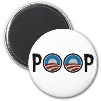 Obama = POOP! Refrigerator Magnets
