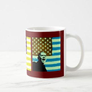 Obama Pop Art Flags Mug