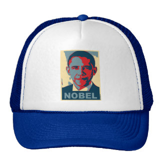 Obama Pop Art Nobel Peace Prize T shirt Trucker Hat