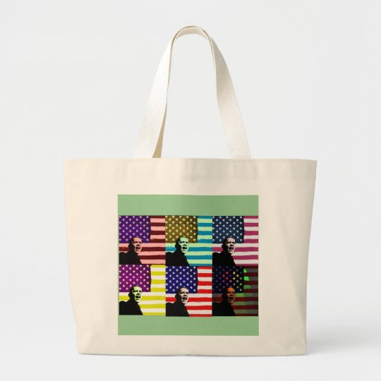 Obama Pop Art Old Glory Bag