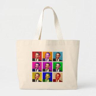Obama Pop Art Style Tote Bag
