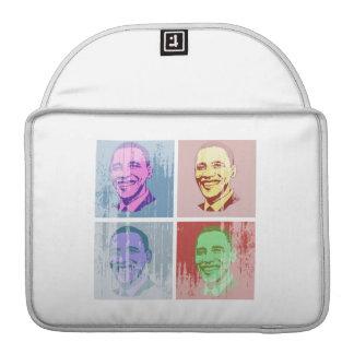 Obama Pop Art Vintage.png MacBook Pro Sleeve