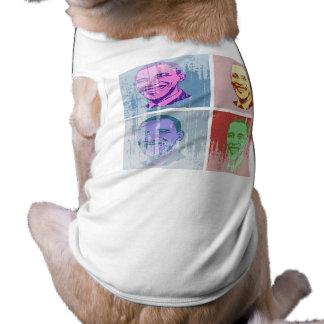 Obama Pop Art Vintage.png Pet Shirt