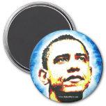 Obama Portrait Magnet Logo