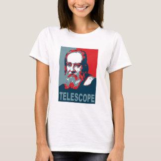 Obama Poster - Galileo Telescope T-Shirt