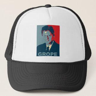 Obama Poster - Grope Trucker Hat